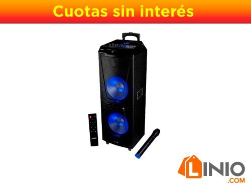 Torre Sonido Aiwa Aw-t2400 24000 Pmpo