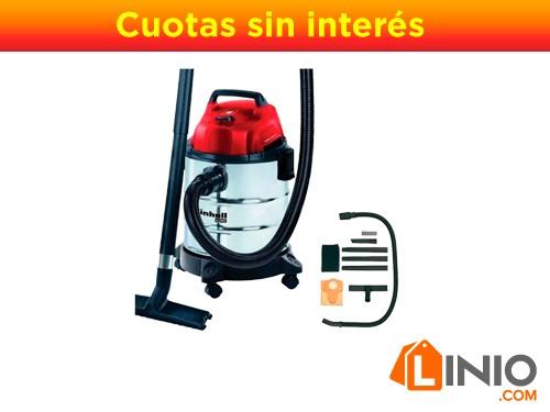 Aspiradora Sopladora Industrial Einhell 20l Polvo Agua Auto