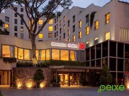 Noche de Hotel para 2 + desayuno + spa en Sheraton Salta