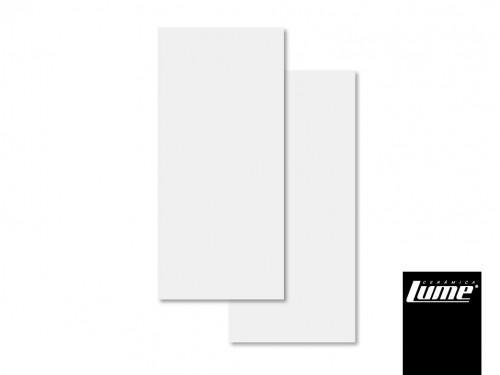 Ceramica lume 45x90 soft white blanco Rectificada