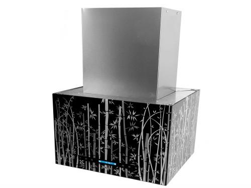 Campana de cocina Llanos Vidrio Isla/pared Bambu 60 cm