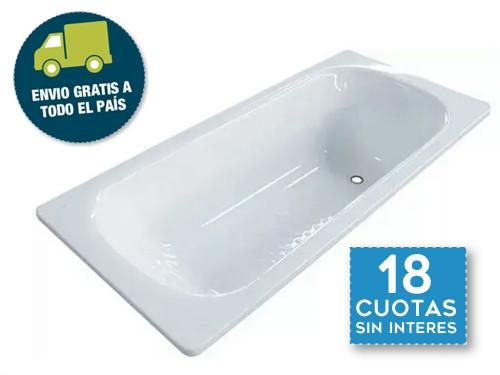 Bañera Roca Sacha Enlozada Con Antideslizante 170x70 Envio