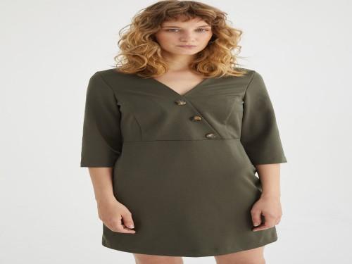 Vestido Florencia Verde Estancias Chiripa