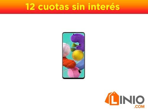 Celular Samsung Galaxy A51 128gb 4g Ram Dual Sim Quad Camara - Negro