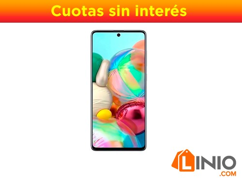 Celular Samsung Galaxy A71 128gb 6g Ram 6.7 Bat.4500mah-Gris