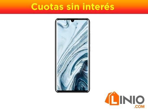 Celular Xiaomi Mi Note 10 128/6gb Ram Cam 108mpx Bat.5260-Negro