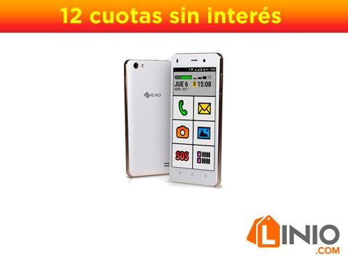 Smartphone EXO Spanky 4G HD