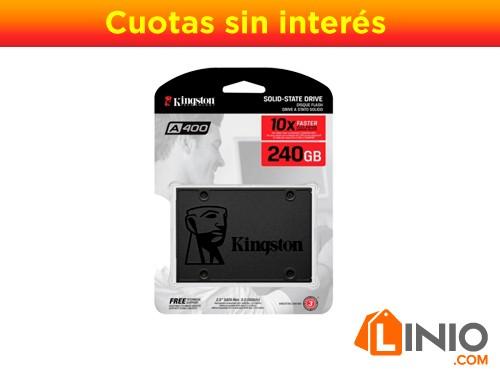 Ssd Plus Disco De Estado Solido KINGSTON A400 240gb 500 Mbps