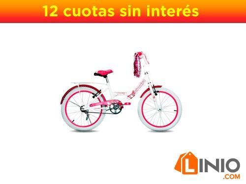 Bicicleta Princess Topmega Rodado 20 Bmx