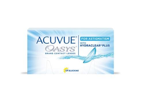 Lentes de contacto Acuvue Oasys Astigmatismo