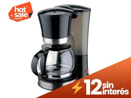Cafetera De Filtro Jarra Vidrio 12 Pocillos 1.2 Litros Hya N