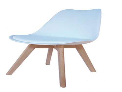 Silla Tulip Diseño Nordico 1 Unidad Home Kong Color Blanco