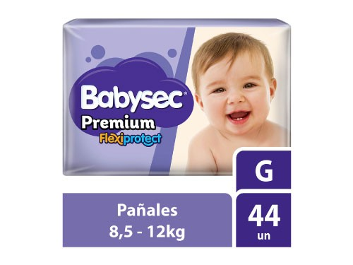Pañales Premium Hiper Babysec