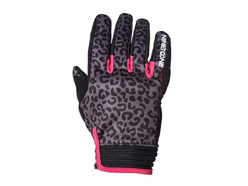 Guantes Moto Mujer Protecciones Leopard Nine To One