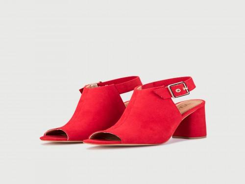 Zapato Brunit Rojo Viamo