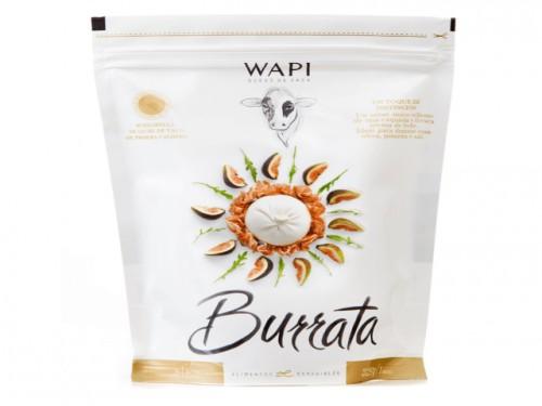 Wapi Queso de Vaca Burrata 250 grs