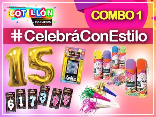 Combo Cotillón Cumpleaños #CelebráConEstilo
