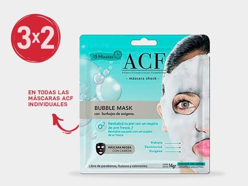 Máscaras faciales individuales ACF