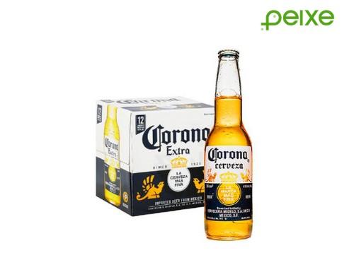 12, 24 o 48 porrones de cerveza Corona 330cc