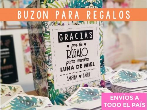 Buzón para regalos en efectivo Bodas / 15 años / Fiestas 2021