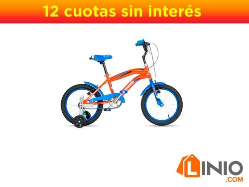 Bicicleta BMX Top Mega Junior Rodado 16