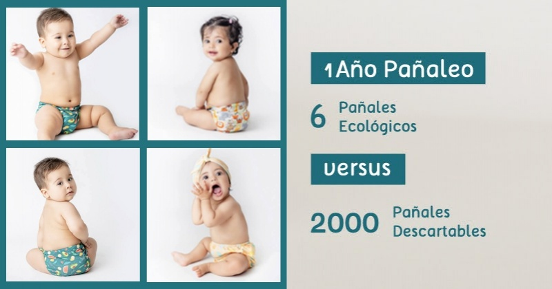 Pañales ecológicos: ¿Qué tipos hay y por qué te recomendamos elegirlos?