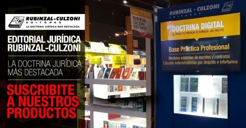 ¿Qué encontrás en la editorial jurídica Rubinzal - Culzoni?